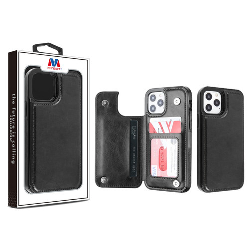 MyBat Stow Wallet Case for Apple iPhone 12 Pro Max (6.7)