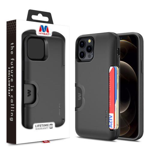 MyBat Slide Series Hybrid Case for Apple iPhone 12 Pro Max (6.7) - Black