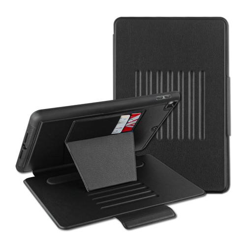 MyBat Pro Leather Folio Case Includes Card Slots & Pencil Holder for Apple iPad 10.2 (2019) (A2197, A2200, A2198) / iPad 10.2 (2020) - Black