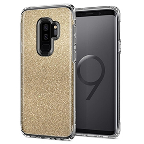 Spigen Slim Armor Crystal Glitter Case for Samsung Galaxy S9+ - Gold Quartz