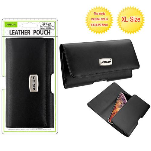 Airium XL Size Horizontal Pouch-V Series - Black