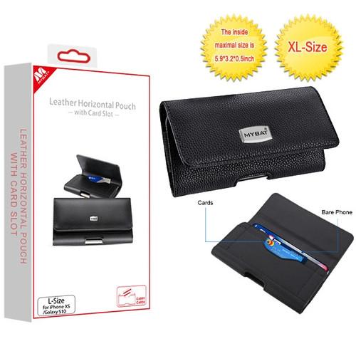 MyBat L Size Horizontal Pouch-Card Series - Black