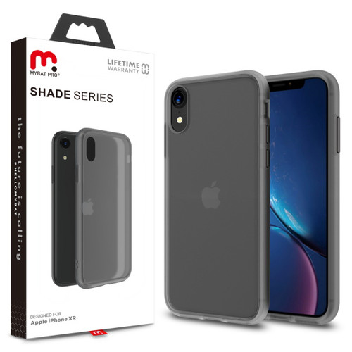 MyBat Pro Shade Series Case for Apple iPhone XR - Smoke
