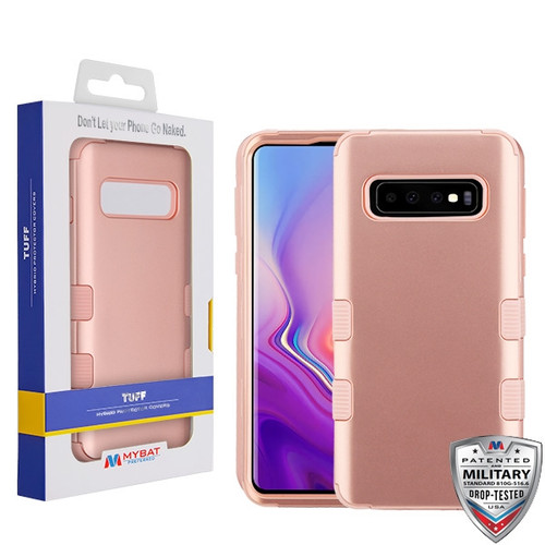 MyBat TUFF Series Case for Samsung Galaxy S10 - Rose Gold / Rose Gold