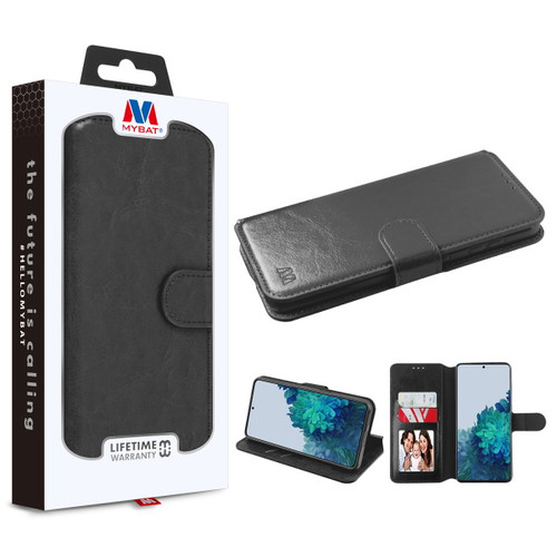 MyBat MyJacket Wallet Element Series for Samsung Galaxy S21 Plus - Black