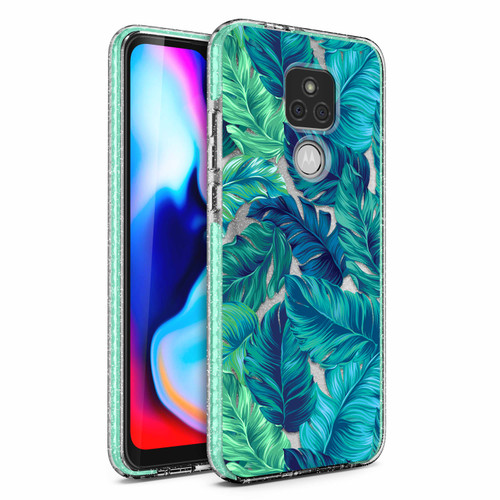 ZIZO DIVINE Series for Moto G Play (2021) Case - Thin Protective Cover - Tropical DIN-MOTXT2093-TPL