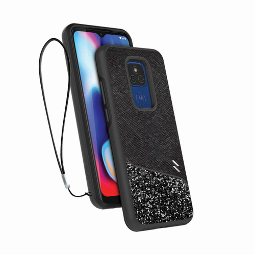 ZIZO DIVISION Series for Moto G Play (2021) Case - Sleek Modern Protection - Stellar DVS-MOTXT2093-STL