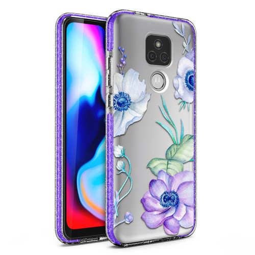 ZIZO DIVINE Series for Moto G Play (2021) Case - Thin Protective Cover - Lilac DIN-MOTXT2093-LIL