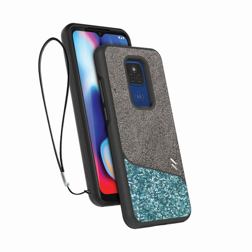 ZIZO DIVISION Series for Moto G Play (2021) Case - Sleek Modern Protection - Mint DVS-MOTXT2093-MNT