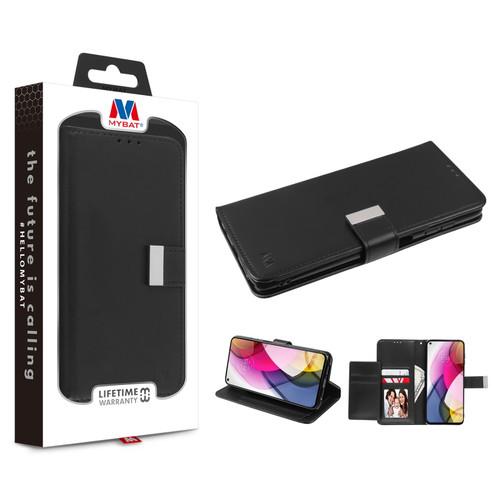 Moto G Stylus (2021) - MyBat MyJacket Wallet Xtra Series for Motorola Moto G Stylus (2021) - Black / Black