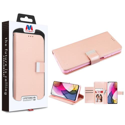 Moto G Stylus (2021) - MyBat MyJacket Wallet Xtra Series for Motorola Moto G Stylus (2021) - Rose Gold