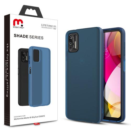 Moto G Stylus (2021) - MyBat Pro Shade Series Case for Motorola Moto G Stylus (2021) - Cobalt