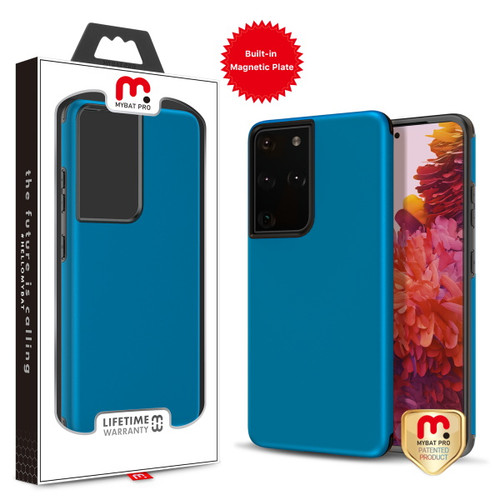 Galaxy S21 Ultra - MyBat Pro Fuse Series Case with Magnet for Samsung Galaxy S21 Ultra - Blue