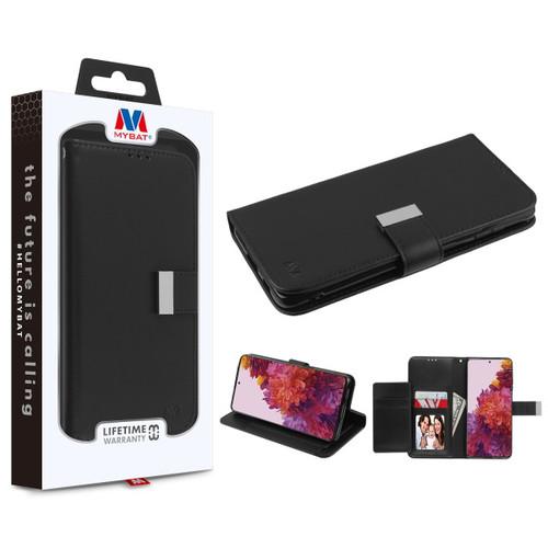 Galaxy S21 Ultra - MyBat MyJacket Wallet Xtra Series for Samsung Galaxy S21 Ultra - Black / Black