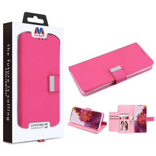 Galaxy S21 Ultra - MyBat MyJacket Wallet Xtra Series for Samsung Galaxy S21 Ultra - Hot Pink / Pink