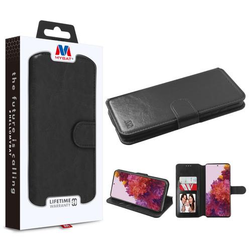 Galaxy S21 Ultra - MyBat MyJacket Wallet Element Series for Samsung Galaxy S21 Ultra - Black