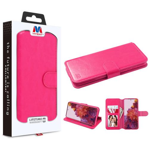 Galaxy S21 Ultra - MyBat MyJacket Wallet Element Series for Samsung Galaxy S21 Ultra - Hot Pink