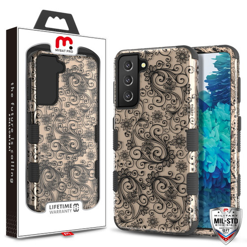 Galaxy S21 Cases - MyBat Pro TUFF Series Case for Samsung Galaxy S21 - Leaf Clover