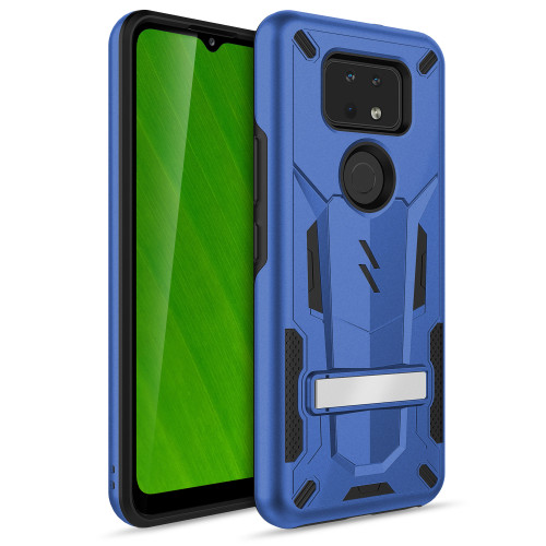 ZIZO TRANSFORM Series for Cricket Ovation 2 Case - Rugged Dual-layer Protection with Kickstand - Blue TFM-CKOV2-BLBK