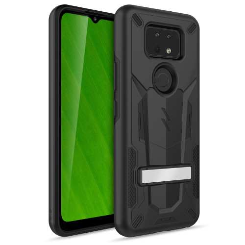 ZIZO TRANSFORM Series for Cricket Ovation 2 Case - Rugged Dual-layer Protection with Kickstand - Black TFM-CKOV2-BKBK