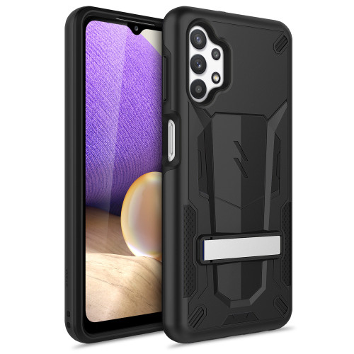 ZIZO TRANSFORM Series for Galaxy A32 5G Case - Rugged Dual-layer Protection with Kickstand - Black TFM-SAMGA32-BKBK