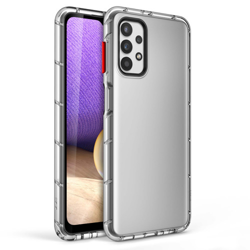ZIZO SURGE Series for Galaxy A32 5G Case - Sleek Clear Case Customizable Buttons - Clear SUR-SAMGA32-CL