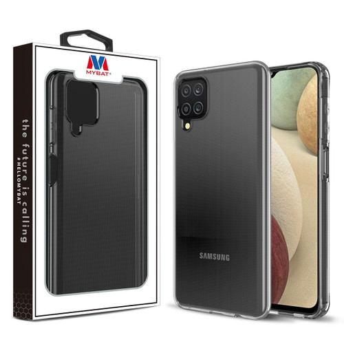 MyBat Candy Skin Cover for Samsung Galaxy A12 - Glossy Transparent Clear