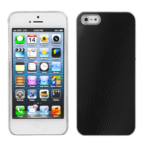 MyBat Cosmo Back Protector Cover for Apple iPhone 5s/5 / SE - Black