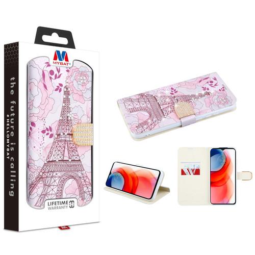 MyBat MyJacket Wallet Diamond Series for Motorola Moto G Play (2021) - Eiffel Tower
