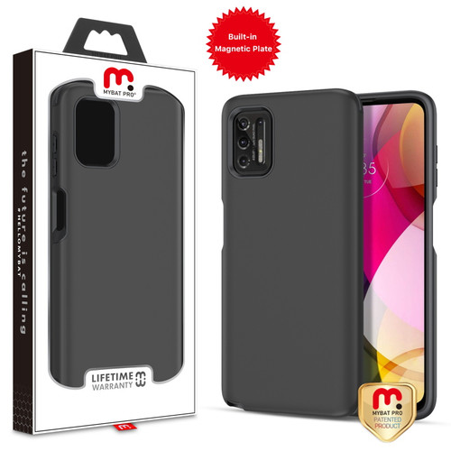 MyBat Pro Fuse Series Case with Magnet for Motorola Moto G Stylus (2021) - Black