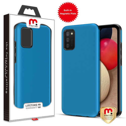 MyBat Pro Fuse Series Case with Magnet for Samsung Galaxy A02s - Blue