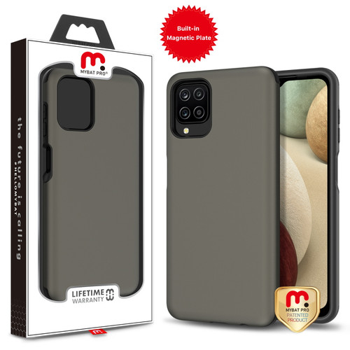 MyBat Pro Fuse Series Case with Magnet for Samsung Galaxy A12 - Gunmetal
