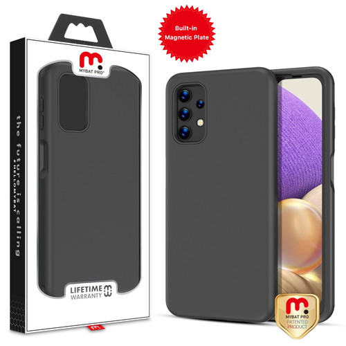 MyBat Pro Fuse Series Case with Magnet for Samsung Galaxy A32 5G - Black