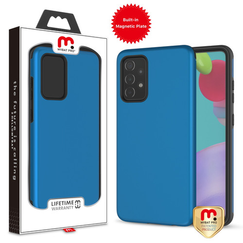 MyBat Pro Fuse Series Case with Magnet for Samsung Galaxy A52 5G - Blue