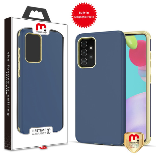 MyBat Pro Fuse Series Case with Magnet for Samsung Galaxy A52 5G - Ink Blue