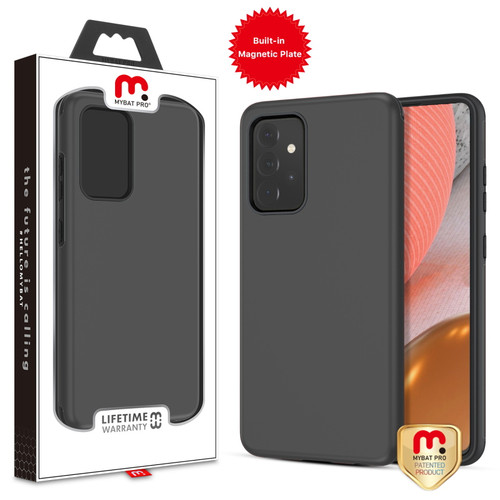 MyBat Pro Fuse Series Case with Magnet for Samsung Galaxy A72 5G - Black