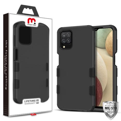 MyBat Pro TUFF Series Case for Samsung Galaxy A12 - Black