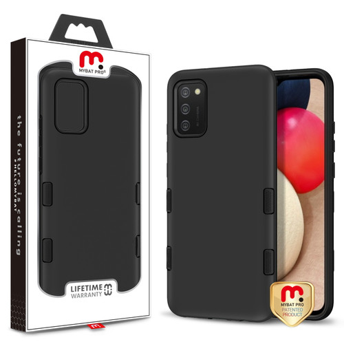 MyBat Pro TUFF Subs Series Case for Samsung Galaxy A02s - Black
