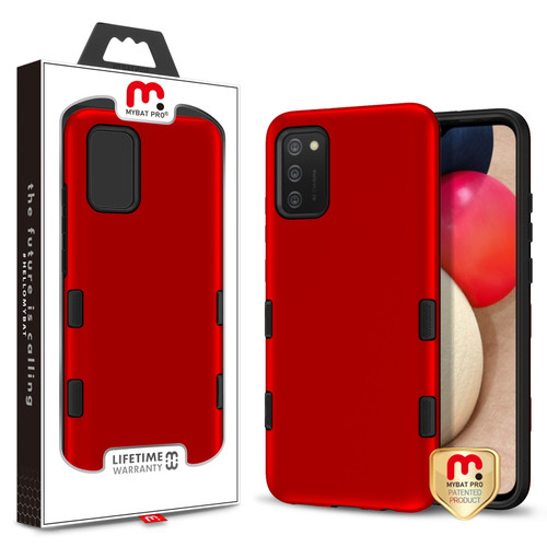 MyBat Pro TUFF Subs Series Case for Samsung Galaxy A02s - Red