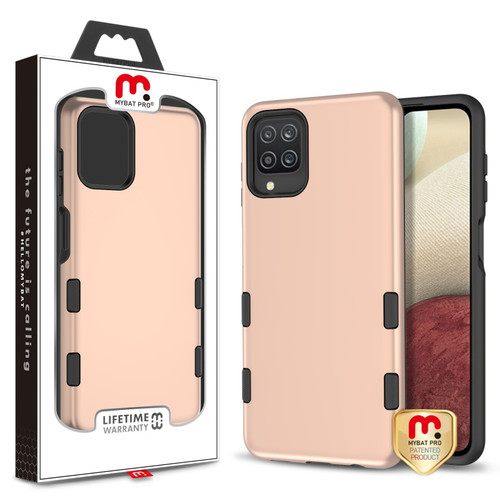 MyBat Pro TUFF Subs Series Case for Samsung Galaxy A12 - Rose Gold