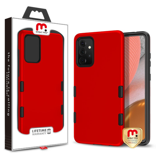 MyBat Pro TUFF Subs Series Case for Samsung Galaxy A72 5G - Red