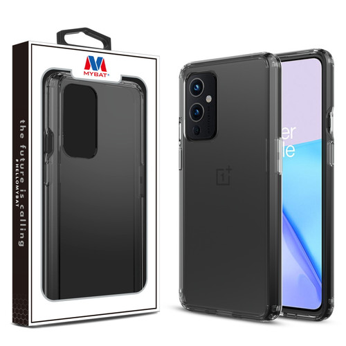 MyBat Sturdy Gummy Cover for Oneplus 9 - Highly Transparent Clear / Transparent Clear