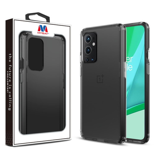 MyBat Sturdy Gummy Cover for Oneplus 9 Pro - Highly Transparent Clear / Transparent Clear