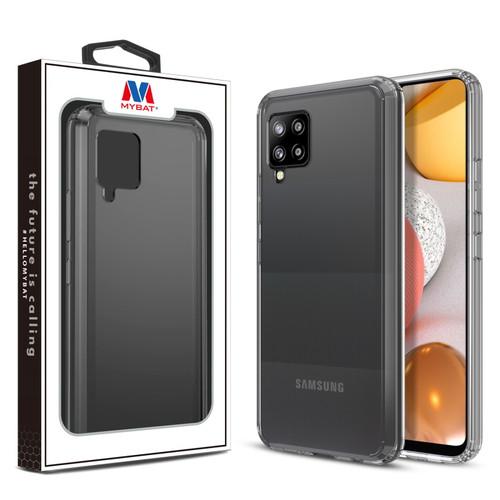 MyBat Sturdy Gummy Cover for Samsung Galaxy A42 5G - Highly Transparent Clear / Transparent Clear