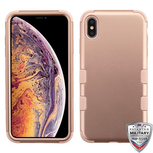 MyBat TUFF Series Case for Apple iPhone XS Max - Rose Gold