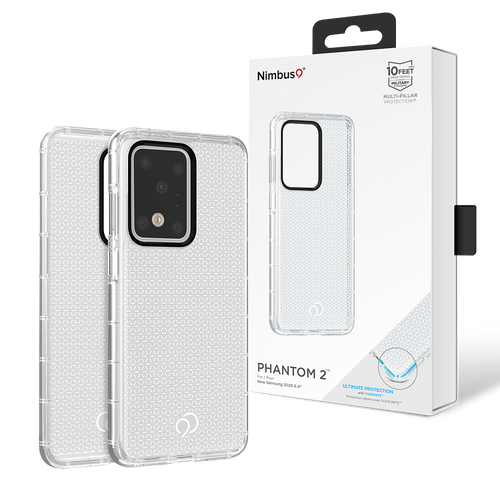 Nimbus9 Phantom2 Case for Samsung Galaxy S20 Ultra - Clear