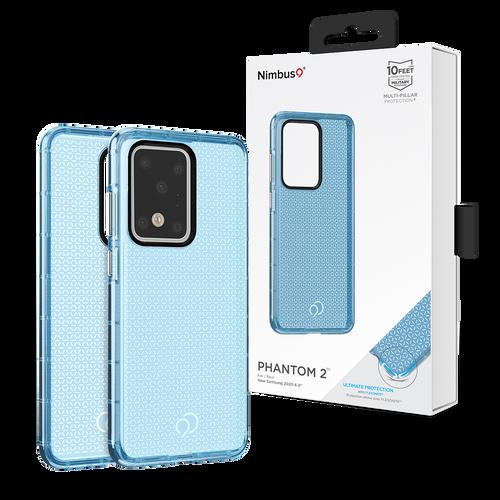 Nimbus9 Phantom2 Case for Samsung Galaxy S20 Ultra - Pacific Blue