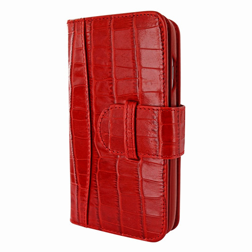 Piel Frama 764 Red Crocodile WalletMagnum Leather Case for Apple iPhone 7 / 8