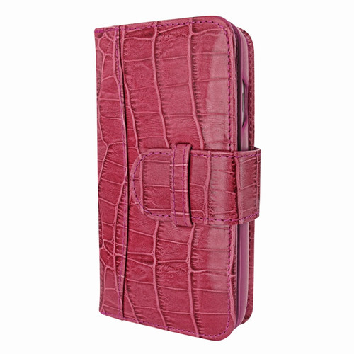 Piel Frama 769 Pink Crocodile WalletMagnum Leather Case for Apple iPhone 7 Plus / 8 Plus