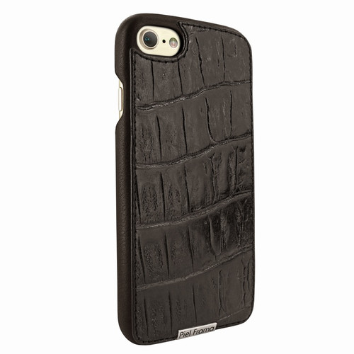 Piel Frama 763 Brown Wild Crocodile FramaSlimGrip Leather Case for Apple iPhone 7 / 8